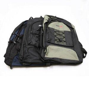 Rucksack, 46 x 31 x 13 cm, 3 Reißverschlussfächer, verschiedene Farben