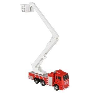 Feuerwehrwagen/Feuerwehrauto mit Hebearm