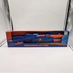 """Spielzeug/Actionspielzeug """"Shotgun"""", ca. 60 x 10 cm, blau/orange"""
