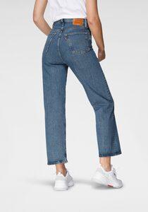 Levi's® 5-Pocket-Jeans »Ribcage Straight Ankle« mit Knopfleiste