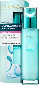 L'ORÉAL PARIS Gesichtsfluid »Hydra Genius Aloe Aqua«, für sensible Haut