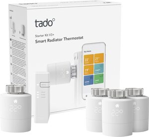 Tado »Starter Kit V3+ mit Bridge und 4 Heizkörperthermostaten« Smart-Home Starter-Set