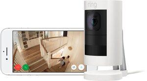 Ring »Stick Up Cam Elite« Smart Home Kamera (Außenbereich, Innenbereich)