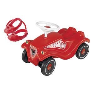 BIG Rutschfahrzeug big bobby car , 800056106 , Rot, Schwarz, Weiß , Metall, Kunststoff , 30x38x58 cm , Hupton , 004500001801