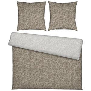 Esposa Bettwäsche flanell taupe 200/200 cm , Paisley , Textil , Paisley , 200x200 cm , Flanell , 008528019003