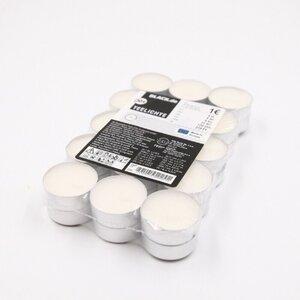 30er-Pack Teelichter, ca. 3,9 cm, weiß
