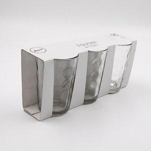 3er-Pack Trinkgläser, 180 ml, Ø ca. 6,5 x 9,6 cm, klar