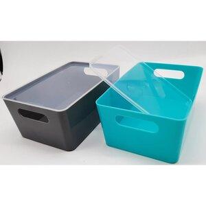 Aufbewahrungsbox mit Deckel 25 x 17 x 10,5 cm