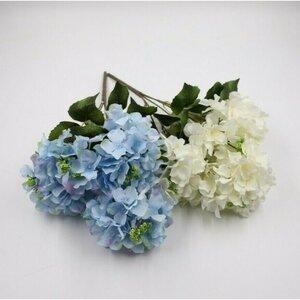 Kunstblumen-Strauß/Blumen-Bouquet Hortensie