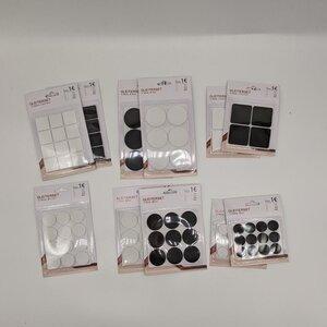 Möbelgleiter-Set, verschiedene Farben und Formen