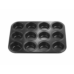 Muffinbackblech/Muffinform für 12 Muffins, ca. 35 x 26 x 3 cm