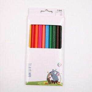 10er-Pack Jumbo-Buntstifte, farblich sortiert