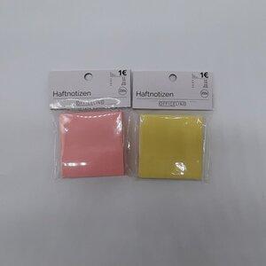 200er-Pack Haftnotizen/Klebezettel, Noitzwürfel, ca. 7,5 x 7,5 cm, verschiedene Farben