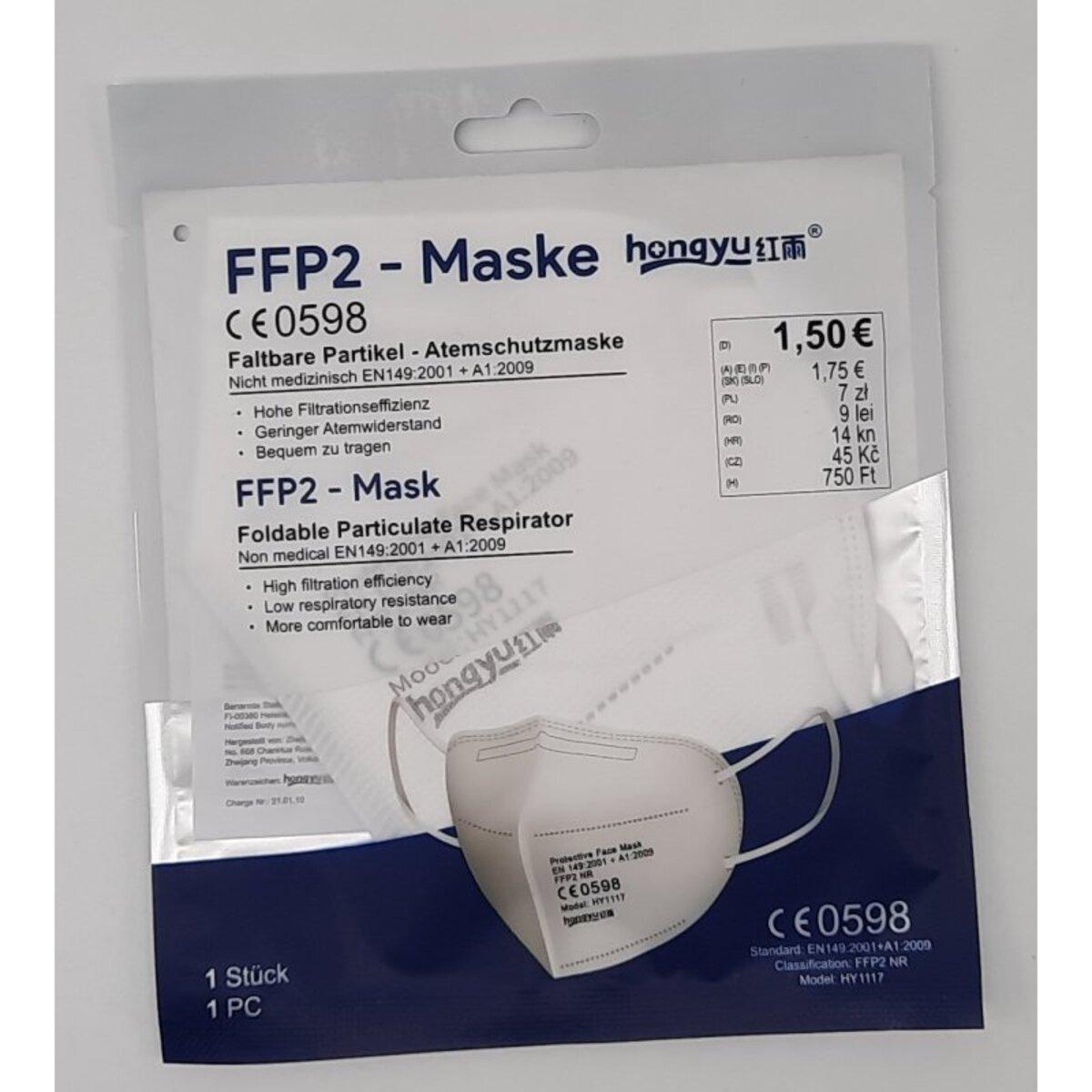 Bild 1 von FFP2-Maske Faltbare Partikel-Atemschutzmaske