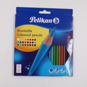 Pelikan Buntstifte 24er-Pack bruchsichere Malstifte Sechskant bunt