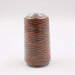 "Overlock Nähgarn Textilgarn ""Rainbow"" Regenbogenfarben 80 g / bunt"
