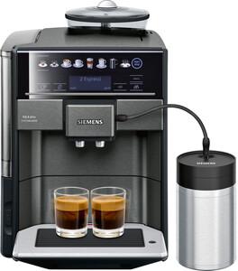 EQ.6 plus TE657F09DE schwarz Kaffeevollautomat