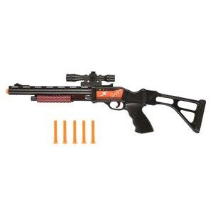 Spielgewehr mit 5 Pfeilen