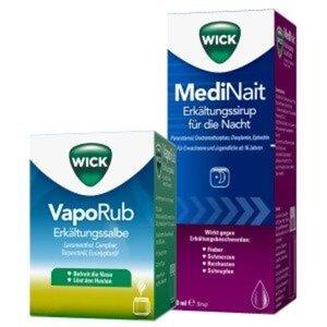 Wick MediNait 180ml + Wick VapoRub 50g 1 St