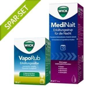 WICK MediNait 180ml + Wick VapoRub 100g 1 St