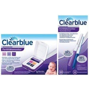 Clearblue Advanced Fertilitätsmonitor + Teststäbchen 1 St