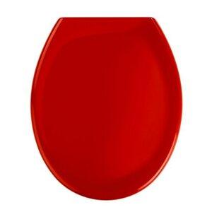 Wenko Premium WC-Sitz Ottana Duroplast/Edelstahl Rot