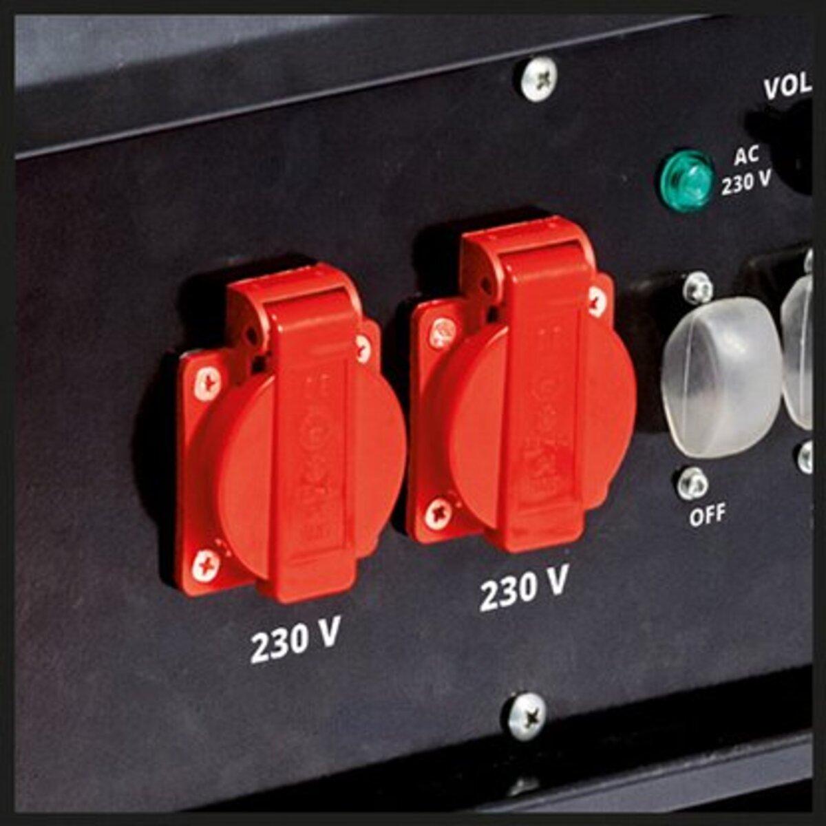 Bild 3 von Einhell Benzin-Stromerzeuger TC-PG 55/E5