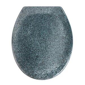 Wenko Premium WC-Sitz Ottana mit Absenkautomatik Granit