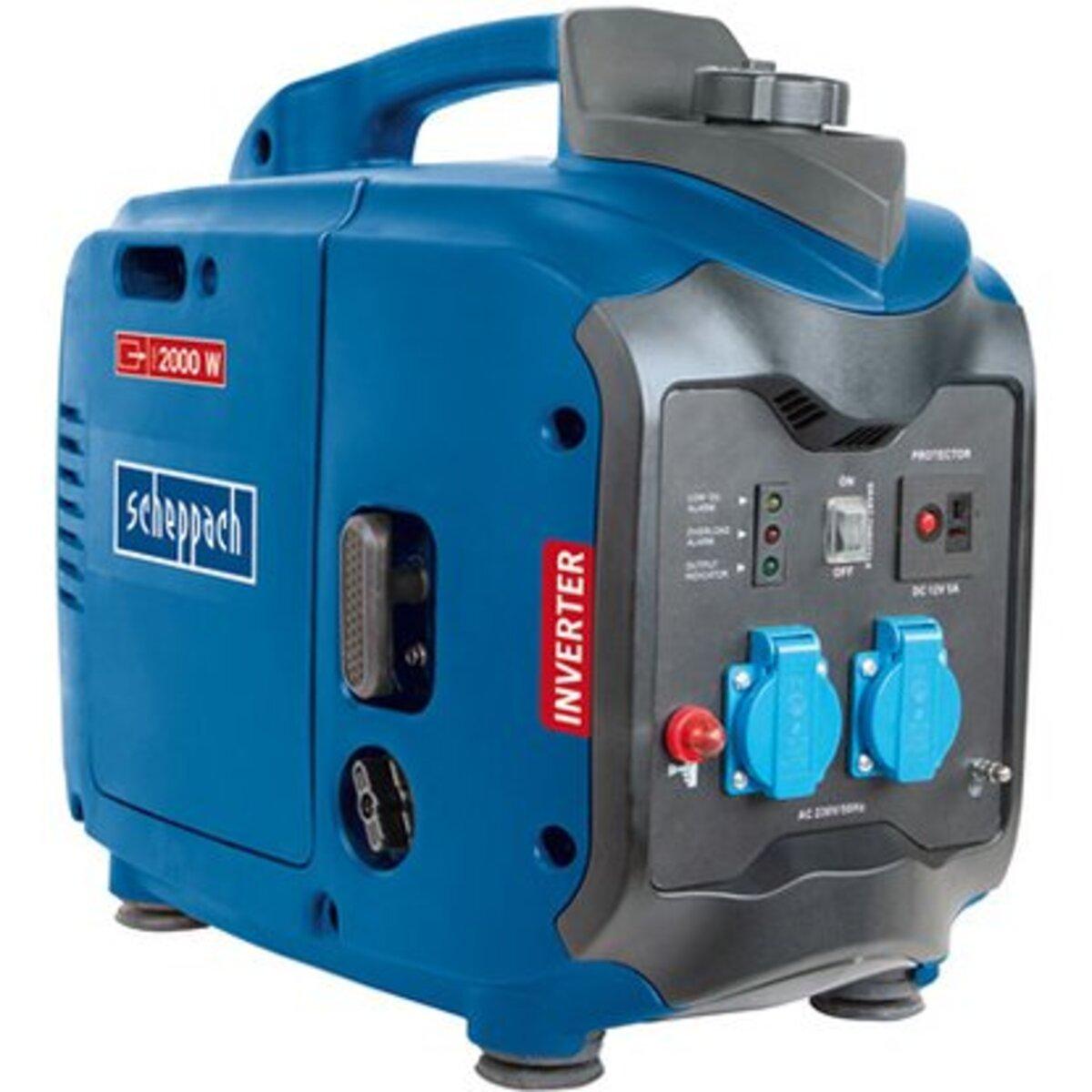 Bild 1 von Scheppach Stromerzeuger Inverter SG2000