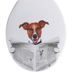 Wenko WC-Sitz Daily Dog Duroplast