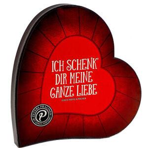 Peters Trüffel Herzpackung, mit personalisierbarer Liebesbotschaft, 200 g