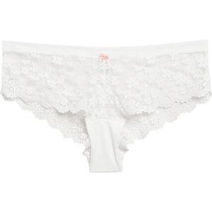 Esprit Hipster-Shorts, Spitze, Schleife, für Damen