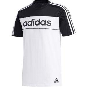"adidas T-Shirt ""Tape"", Schriftzug, Logo, Rundhalsausschnitt, für Herren"
