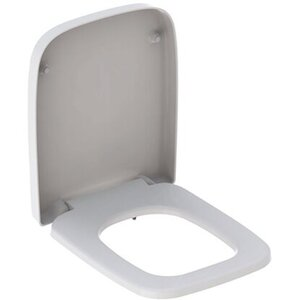 Geberit WC-Sitz Renova Plan Absenkautomatik Eckig Weiß