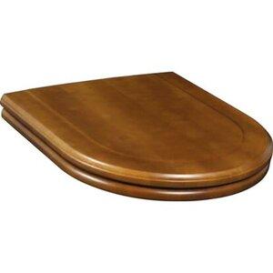 Villeroy & Boch WC-Sitz aus Holz für Stand-WC Hommage Scharniere Edelstahl
