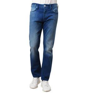 Jack & Jones Jeans, Slim Fit, Waschung, kurze Knopfleiste, Patch, für Herren