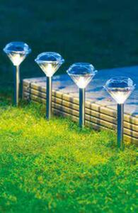 Garden Dream 4er-Set Solar-Diamant-Leuchten
