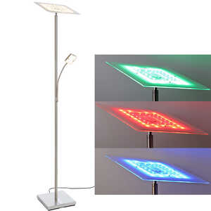 LIV&BO®  LED-Standfluter mit Leselampe