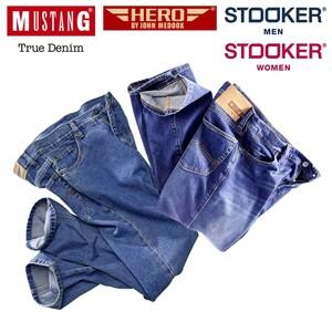 Herren-Jeans Mustang, Hero by John Medoox oder Damen-/Herren- Stooker-Jeans und Hosen versch. Modelle, Waschungen und Größen, ab