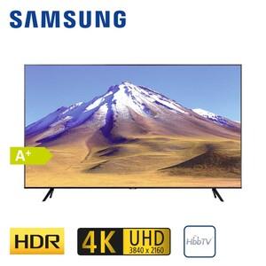 """GU65TU6979 · 2 x HDMI, USB, CI+ · integr. Kabel-, Sat- und DVB-T2-Receiver · Maße: H 83 x B 144,8 x T 6 cm · Energie-Effizienz A+ (Spektrum A+++ bis D) Bildschirmdiagonale: 65""""/163 cm"""