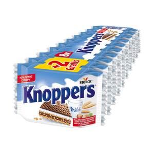 Knoppers 8er + 2 gratis, jede 250-g-Packung