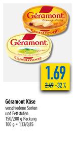 Géramont Käse