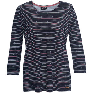 Damen Shirt mit Allover-Muster