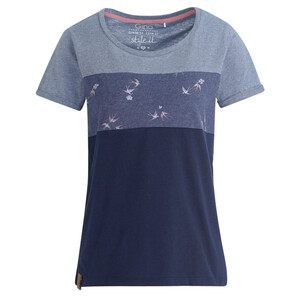 Damen T-Shirt mit fixierten Turn-ups