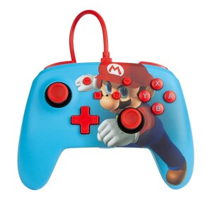 Nintendo Switch Enhanced Wired Controller Mario Punch