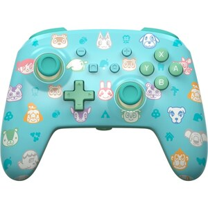 Nintendo Switch Enhanced Wired Controller - Animal Crossing