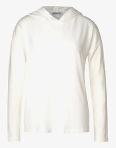 Street One - Hoddie-Shirt in Unifarbe