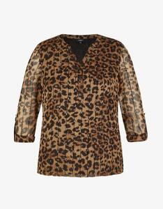 Bexleys woman - festliche Bluse mit Animalprint