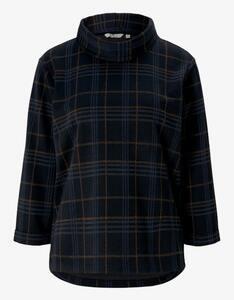 Tom Tailor - Jaquard-Sweatshirt mit Rollkragen