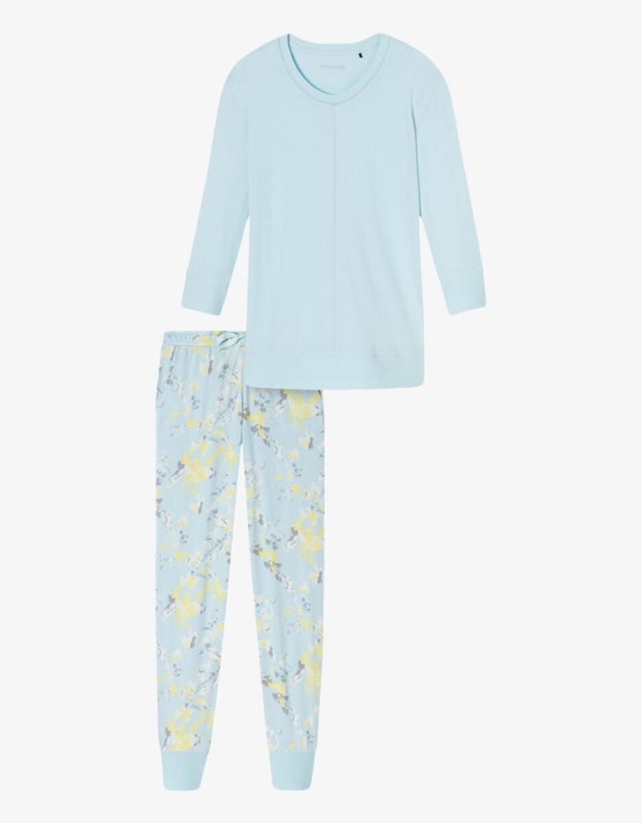 Bild 1 von Schiesser - Pyjama mit Ärmeln in 3/4 Länge